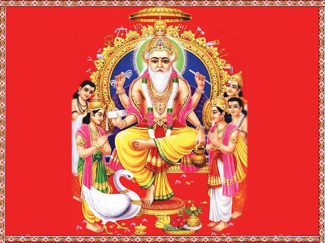 Best Lord Vishwakarma / Vishwakarma Puja  Wallpaper For Your Mobile