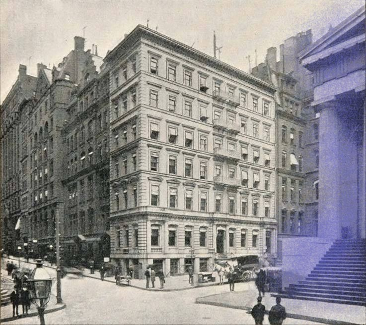 New York - History - Geschichte: Manhattan Trust Company Building