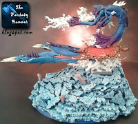 Chaos Daemons Burning Chariot of Tzeentch WiP 7 Disc