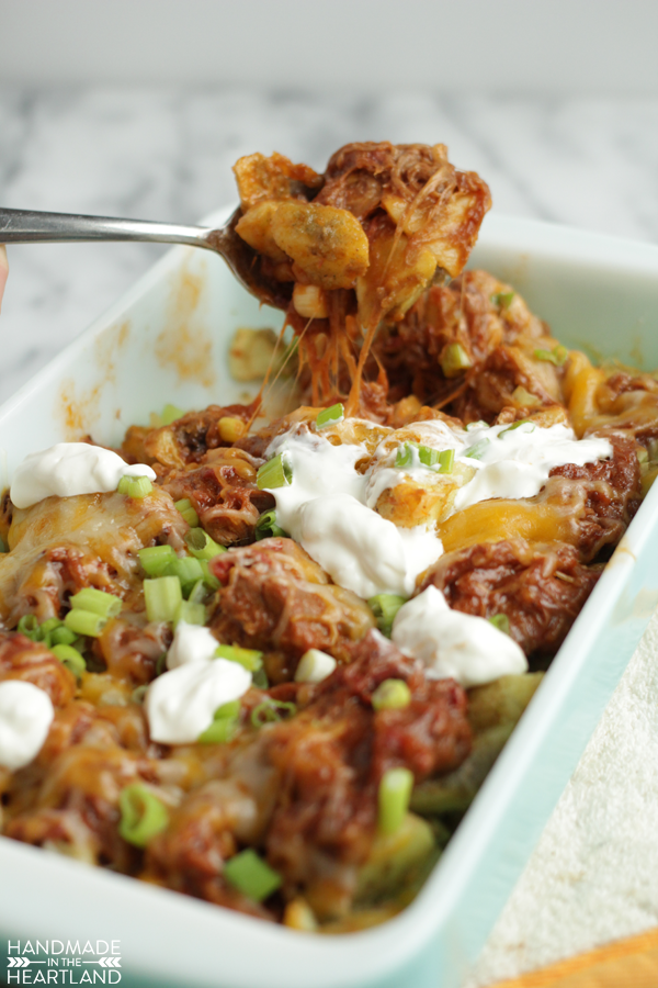 Loaded BBQ Potatoes