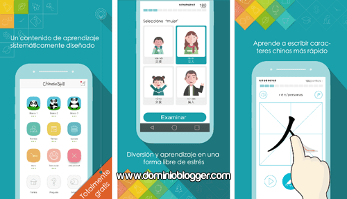 App ChineseSkill gratis para Android
