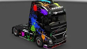 Color Splash Skin for Volvo FH 2012