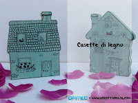 Casette di legno decorative praticando l'Art Therapy