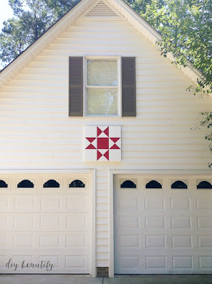 DIY barn quilt tutorial