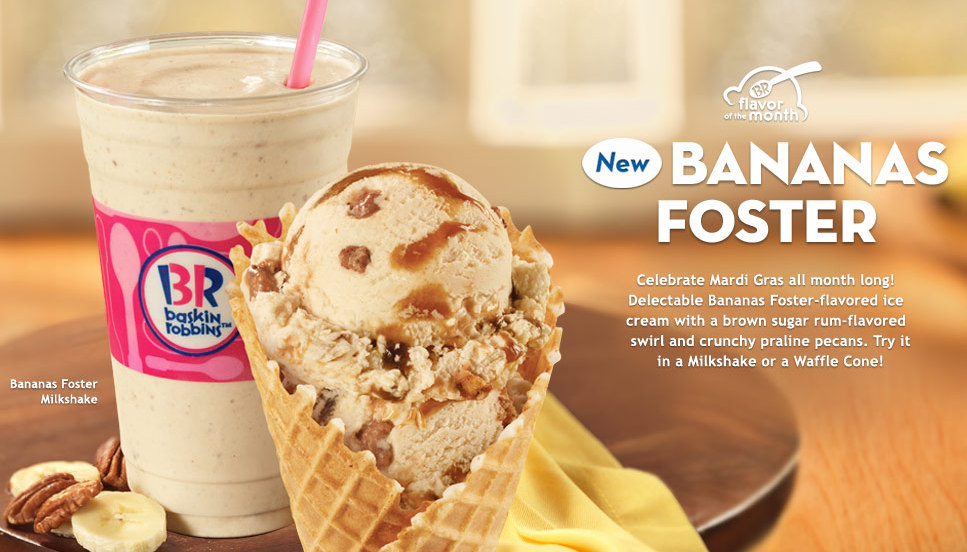 baskin robbins flavor of the month Here's a chronological list of baskin-robbins' flavor of the month, if you're looking for such a thing if so, you're a super hardcore baskin-robbins fan it.