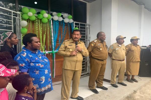 Jhon Richard Banua Minta 27 Puskesmas di Jayawijaya Laksanakan Visi Misi Kesehatan