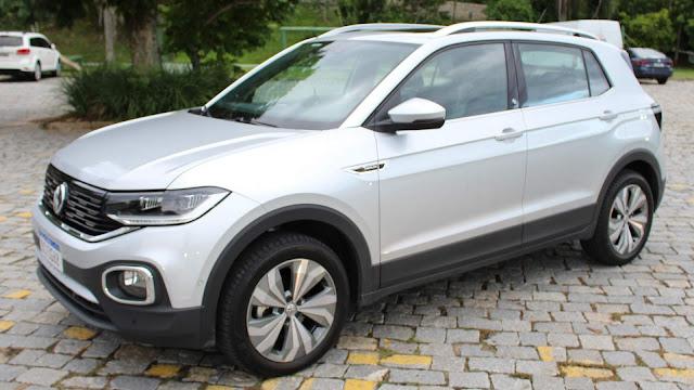 Volkswagen T-Cross 2021 - carro mais vendido do Brasil