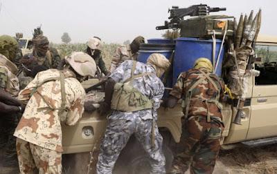 nigerian troops boko haram landmine