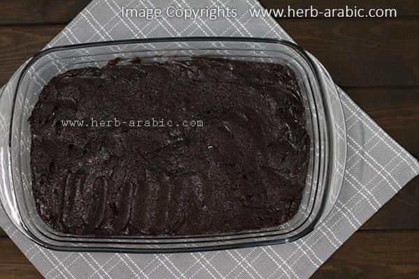 صينية براونيز دبل شوكولاتة