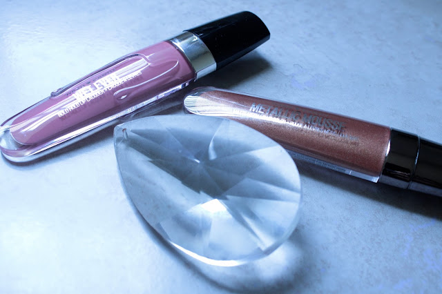 Hard Candy Wet Ever Lipgloss( Selfish) , Hard Candy Metallic Mousse (Sweet As Honey)