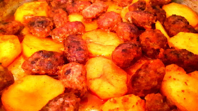 patatesli salçalı köfte tarifi