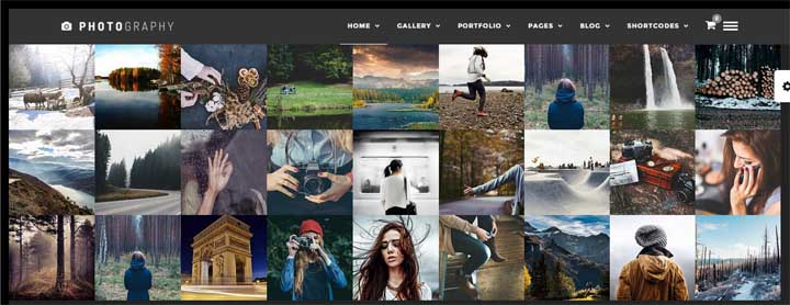 Photography Responsive WordPress Gallery