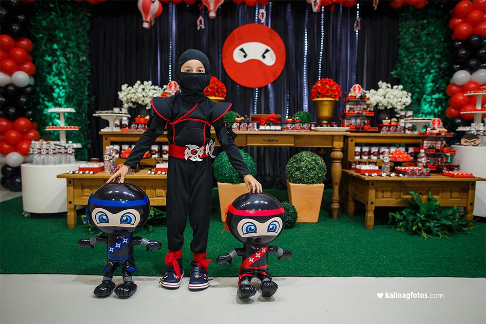 Aniversário Tema Ninja