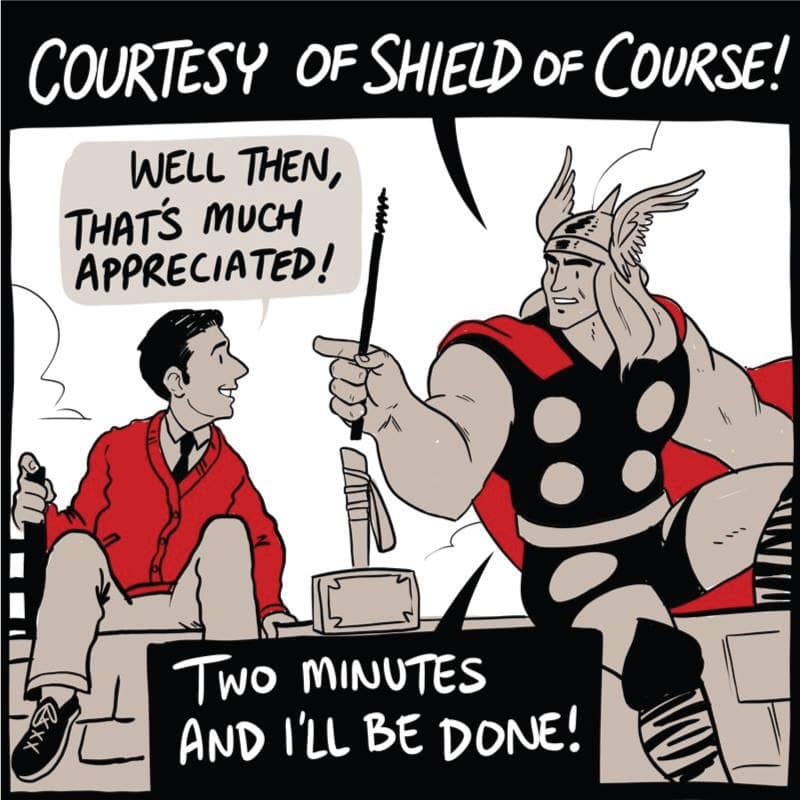 MiddletownMike: Mr  Rogers Meets Thor