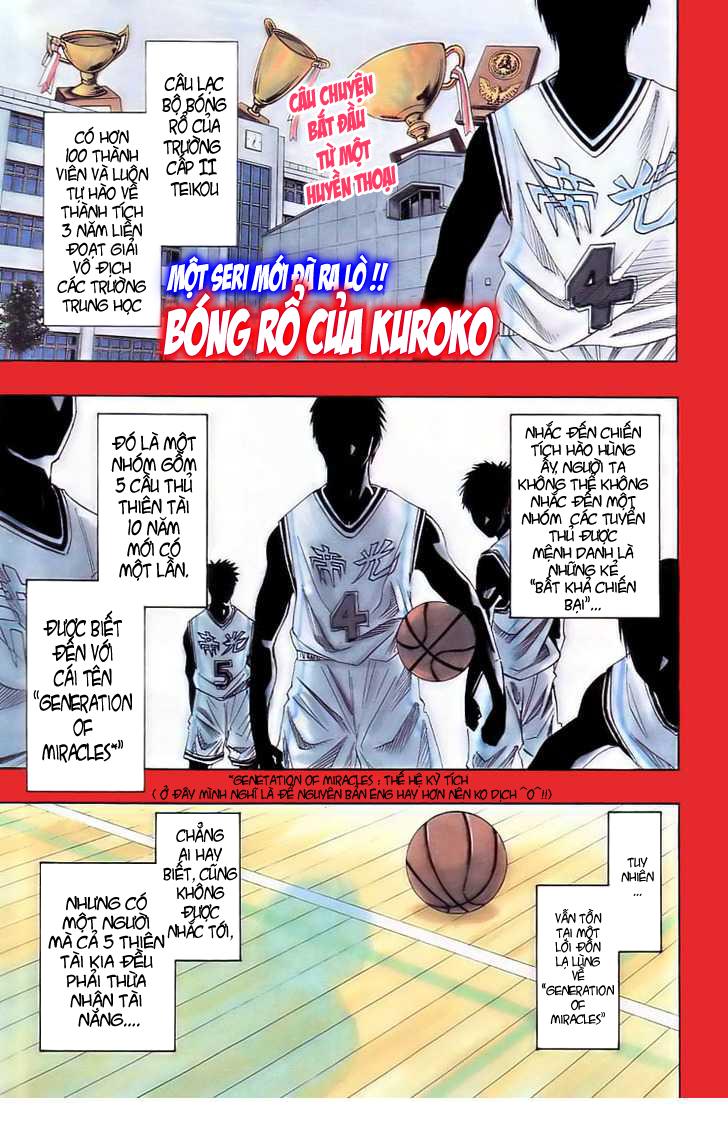 Kuroko No Basket chap 001 trang 1