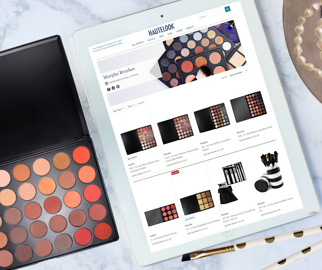 All Morphe 35O Palettes On Sale For 62% Off on Hautelook by Barbies beauty bits