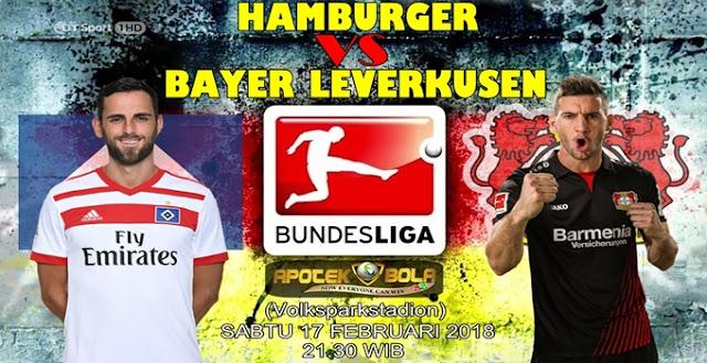 Prediksi Hamburger SV vs Bayer Leverkusen 17 Februari 2018