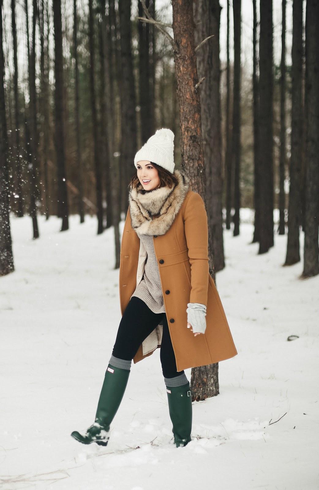 j crew lady day coat winter look