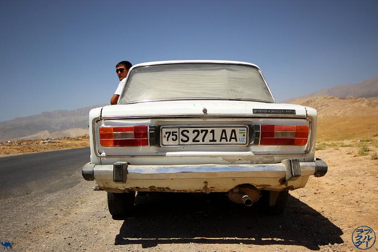 Le Chameau Bleu - Blog Voyage Ouzbékistan Asie Centrale - Chauffeur dans le sud de l'Ouzbékistan - Boysun