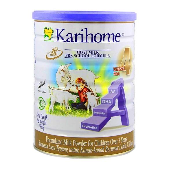 Karihome step 4 - untuk kanak kanak berusia melebihi 3 tahun.