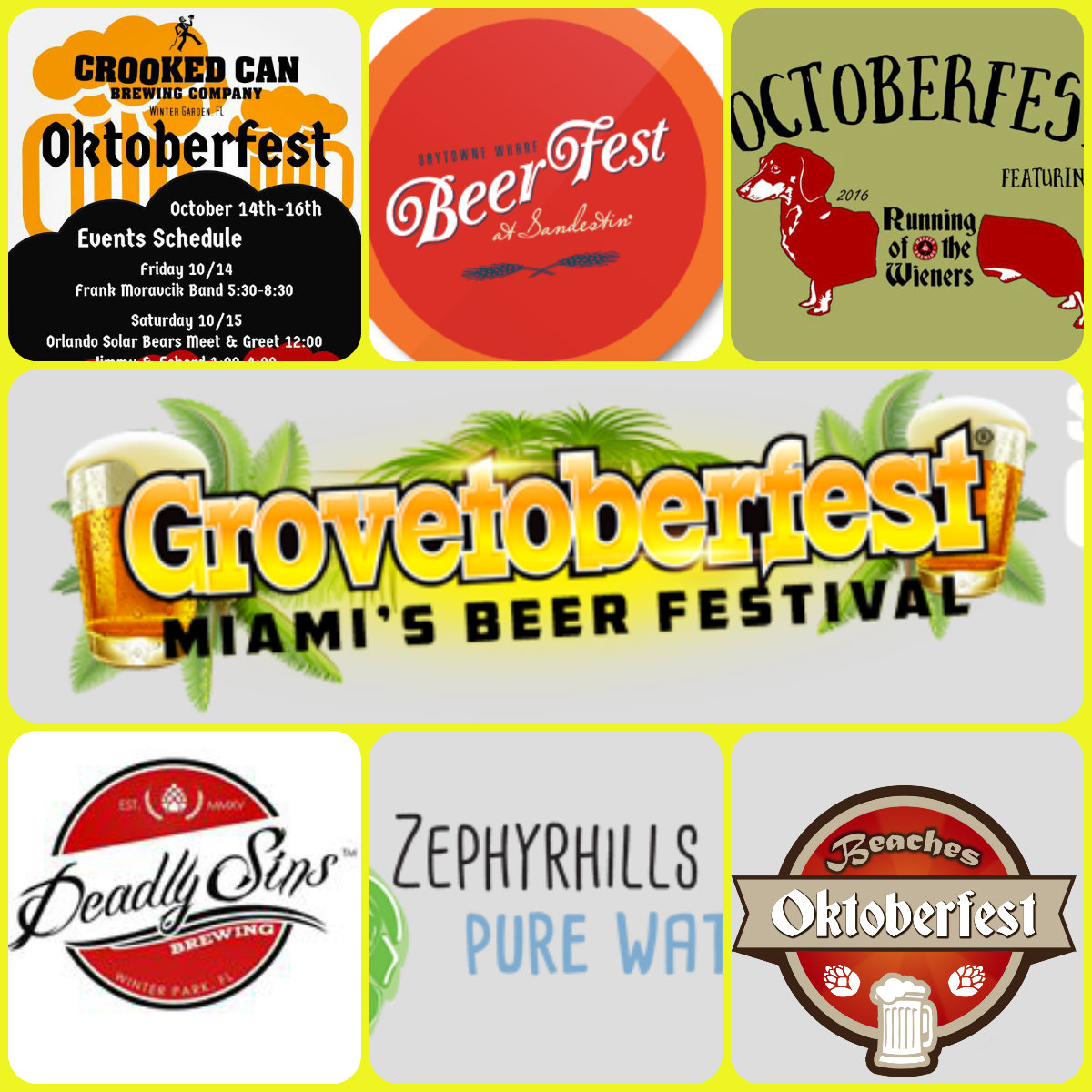 brewnymph florida beer events are rockin u0027 this fall