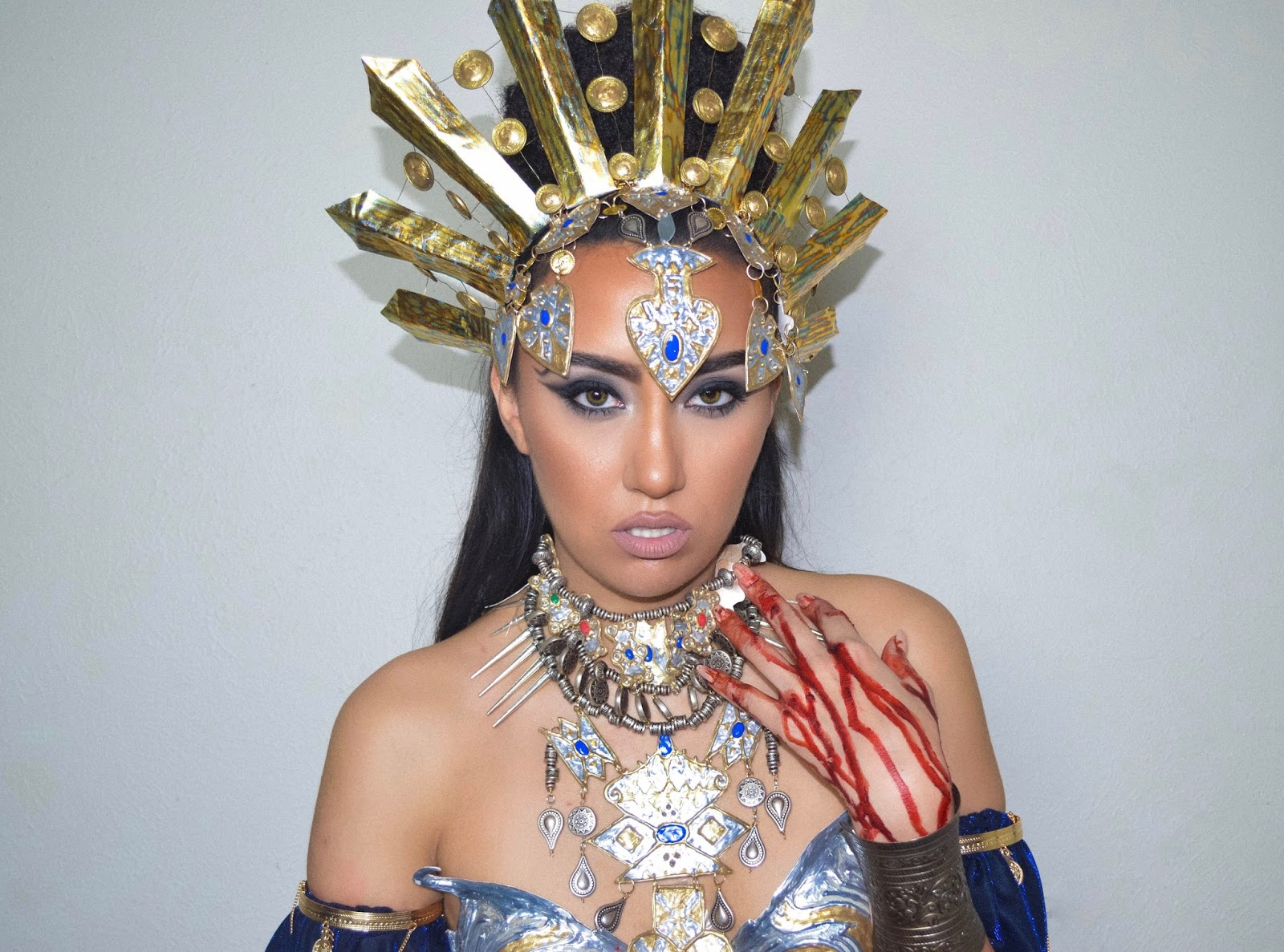 I know I know another throwback look... but how could I let Halloween pass again without sharing the deets behind this  award winning costume  (hey ...  sc 1 st  Makeup by Kitty & makeupbyKitty: Akasha QUEEN OF THE DAMNED; Halloween Glam