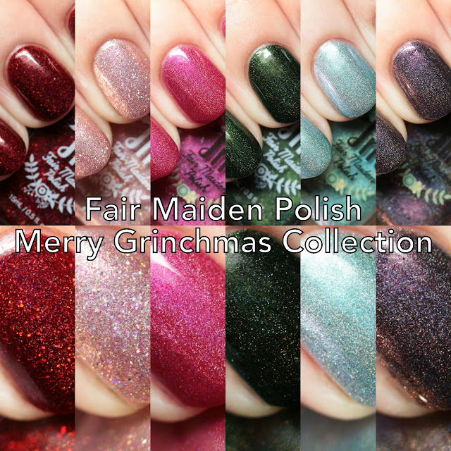 Fair Maiden Polish Merry Grinchmas Collection