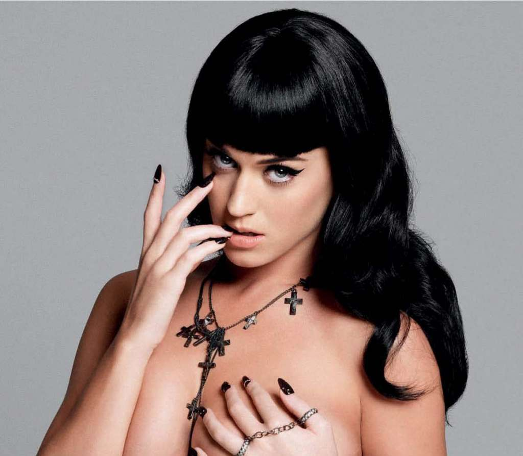 Katy perry to naked female pop stars