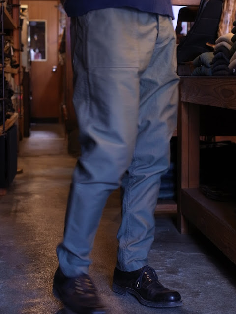 Workers    Air Force Baker Slim Tapered    2-Tone Reversed Sateen