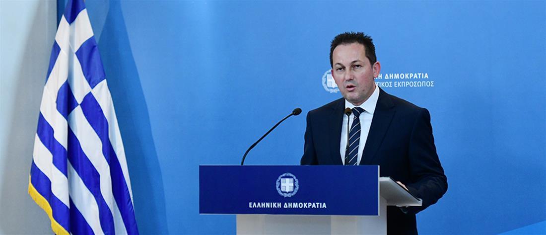 """Πέτσας: Άλλα 9 εκατ. ευρώ στα ΜΜΕ για την καμπάνια του """"Μένουμε σπίτι"""""""