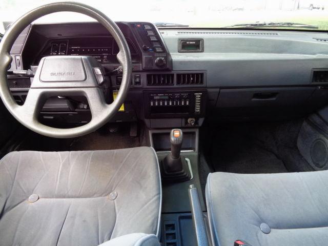1987 subaru gl sedan