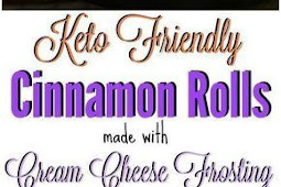 Keto Cinnamon Rolls Recipe - Low Carb and Made with Cream Cheese Frosting