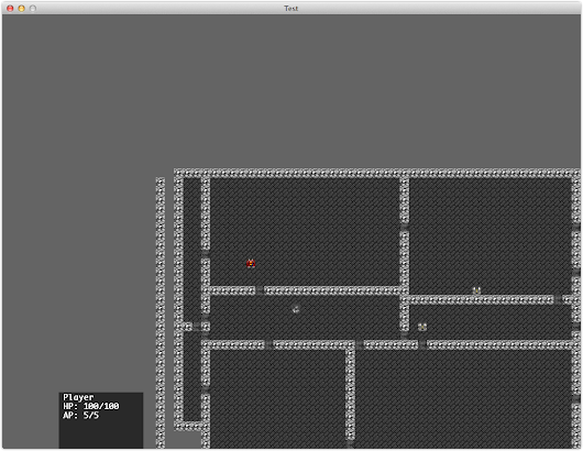 Building a roguelike/tactics game in python and C++