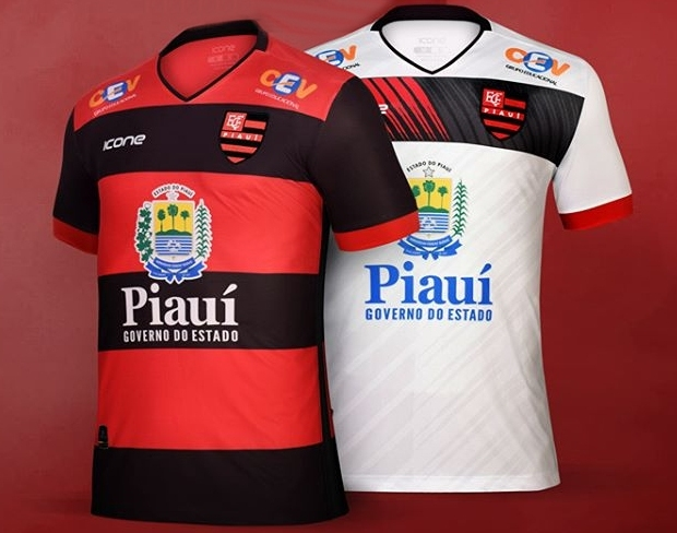 Ícone Sports lança as novas camisas do Flamengo do Piauí - Show de ... a3658f36fa3c8