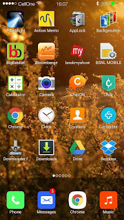 Cara Merubah Tampilan HP Seperti IOS (Iphone) di Android