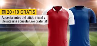 bwin promocion 10 euros Arsenal vs Everton 3 febrero