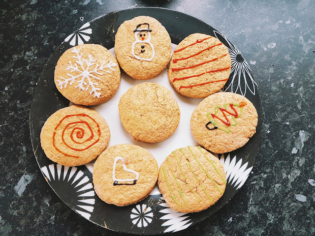 Baking Festive Cinnamon Biscuits