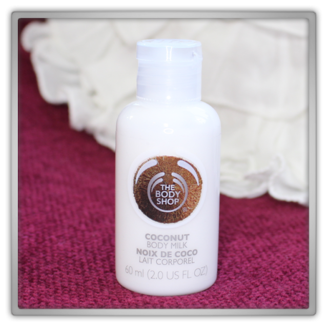 The Body Shop Haul Review blog beauty blogger coconut body milk mini size travel soft moisture