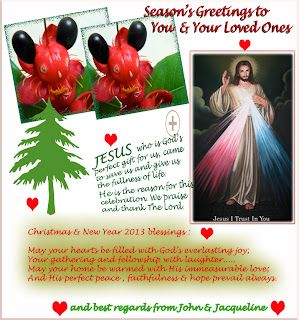 Christmas 2012 and New Year 2013 greeting card