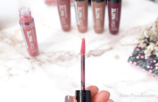 Rimmel Stay Matte Liquid Lip Colour отзыв и свотчи