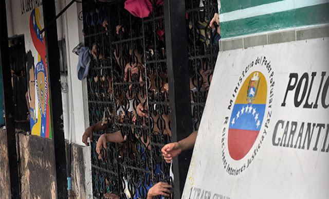 Al menos 13 presos se fugaron de un calabozo de la PNB en Lara