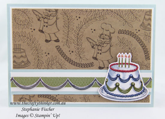 Birthday Delivery Bundle Sneak Peek Thecraftythinker Stampin Up Australia Demonstrator Stephanie