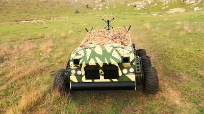 Elektroland Defence tarafından üretilen ve tamamen Türk mühendis,teknisyen ve işçileri tarafından geliştirilen 6x6 insansız kara aracı BOĞAÇ üstün süspansiyon sistemi sayesinde hertürlü zorlu arazi şartlarında başarıyla görevini yerine getirecektir.