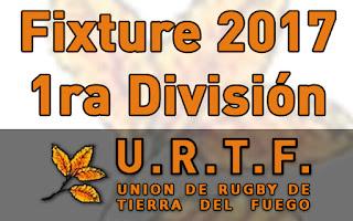[URTF] Fixture - Torneo Provincial 2016-2017 - 1º División