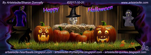 Halloween Facebook cover (1) by Artsieladie