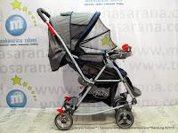 Pliko PK238 Rocker Baby Stroller