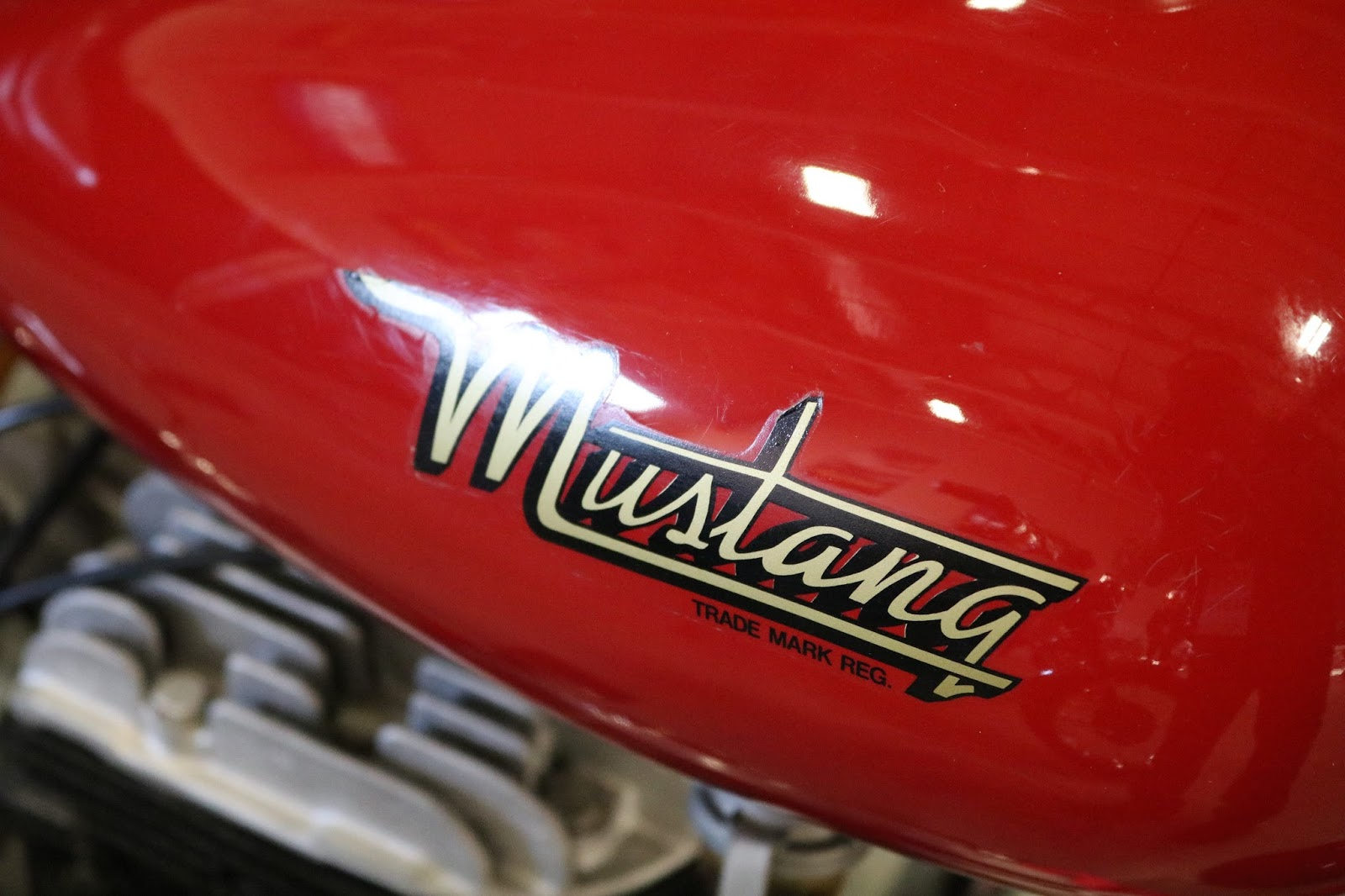 Oldmotodude 1949 Mustang Model 2 Sold For 9 000 At The