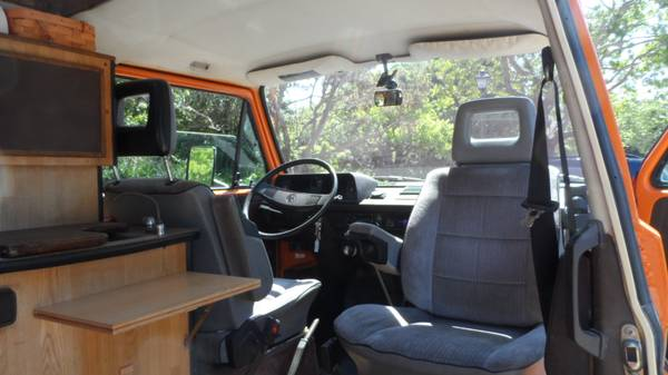 1982 Volkswagen Vanagon High Top Camper | vw bus wagon