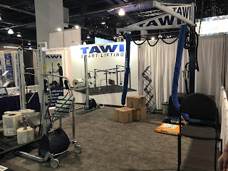 TAWI USA lifting equipment at Pack Expo 2017