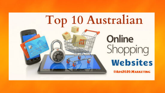 Ecommerce in australia top 10 most trusted australian for Online shopping websites list